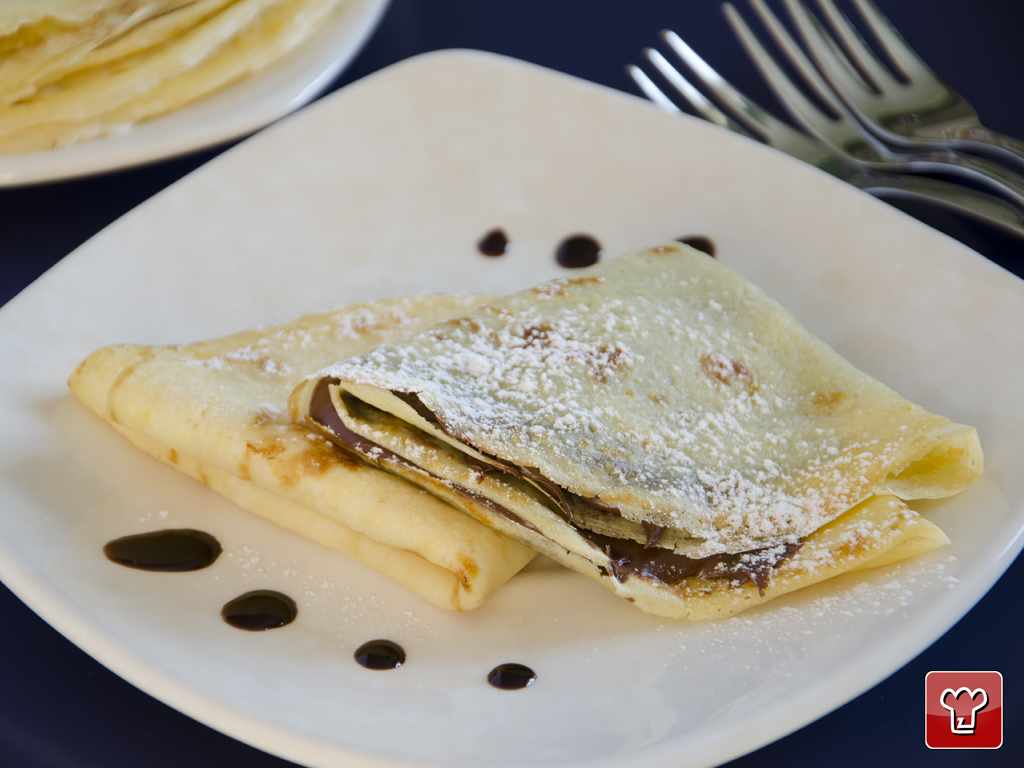 Nutella Crepes Is A Desserts By My Italian Recipes