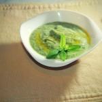 vellutata di zucchine e menta - ricettepercucinare.com