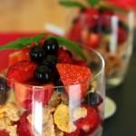 Crumble di frutti rossi