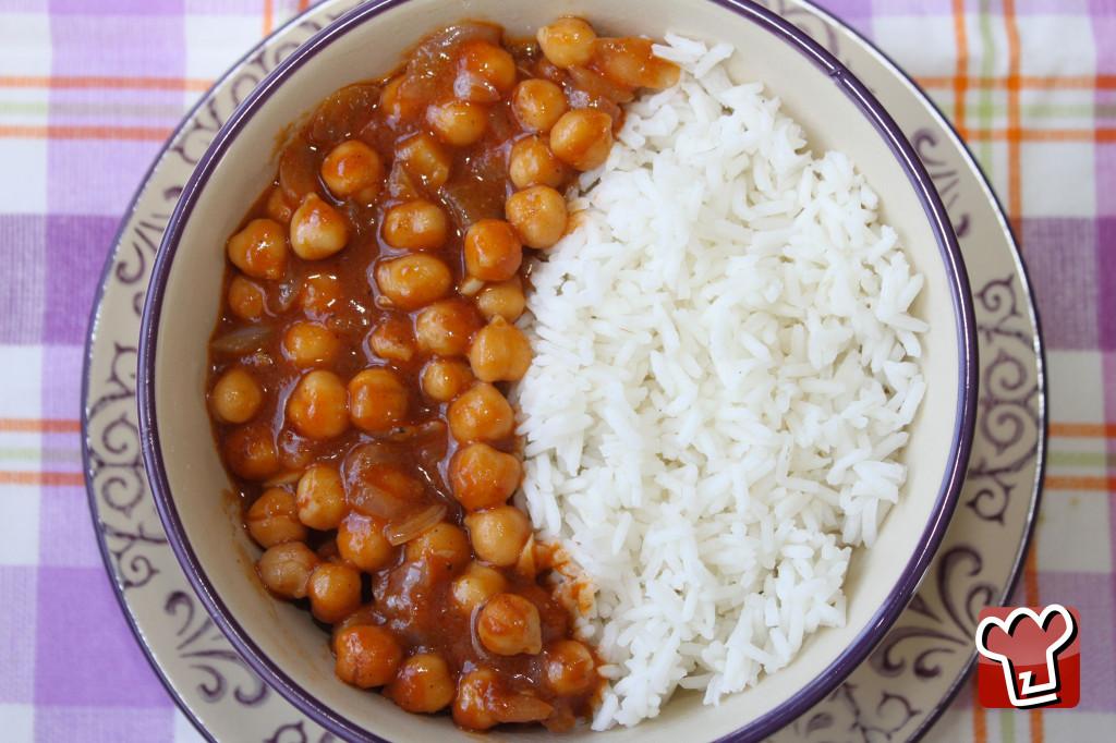 curry di ceci - Chickpea curry - My Italian Recipes