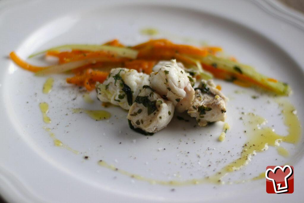 medaglioni di coda di rospo - My Italian Recipes