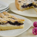 crostata di ricotta e marmellata - My Italian Recipes