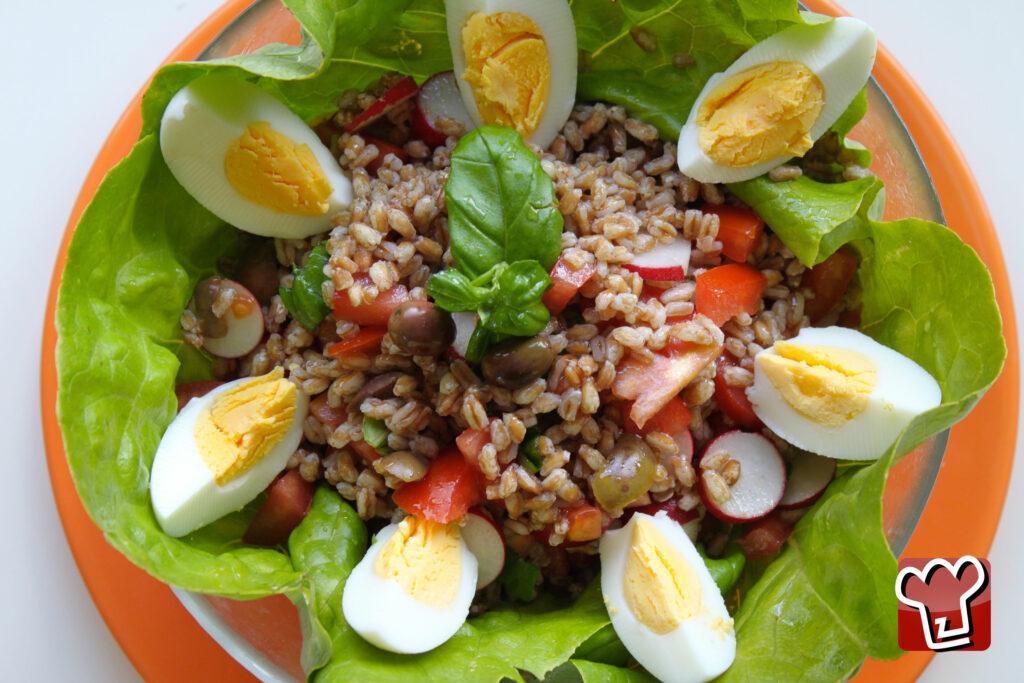 My Italian Recipes - Insalata di Farro