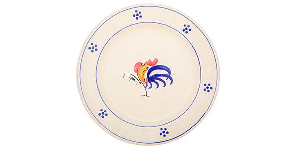 piatti con gallo